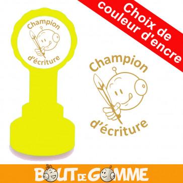 Tampons Encreurs | Champion d'écriture - Tampons de Bout de Gomme
