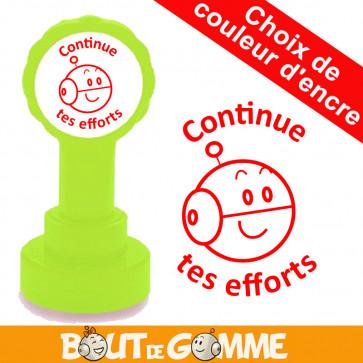 Tampons Encreurs   Continue tes efforts Tampon Encreur - Tampons de Bout de Gomme