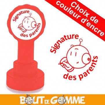 Tampons Enseignants | Signature des parents - Tampons de Bout de Gomme