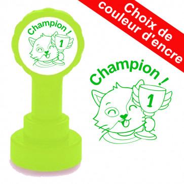 Tampons Auto-encreurs | Champion ! Tampon Encreur de Sanléane