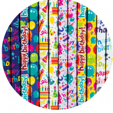 Kids Birthday Pencils | Colourful celebration design