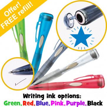 Stamp Pen | Shining Blue Star Xstamper Clix Pen