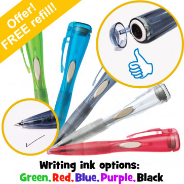 Xstamper Clix Pen | Thumbs up Stamp and Wriiting Pen