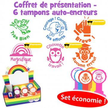 School Stamps   French Language Teacher Stamps - Les mots d'éloge