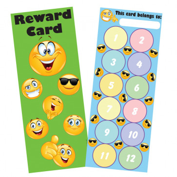 Reward Charts | Emoji Reward Bookmark / Sticker Reward Chart