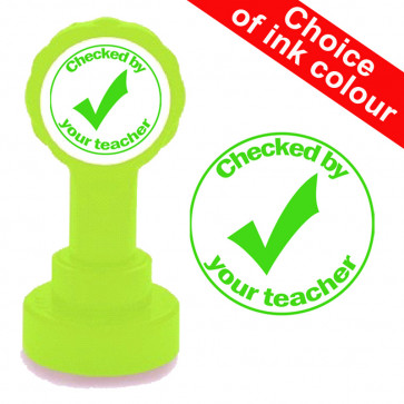 Teacher Stamps | Verbal feedback given. Self-inking Stamp for School.