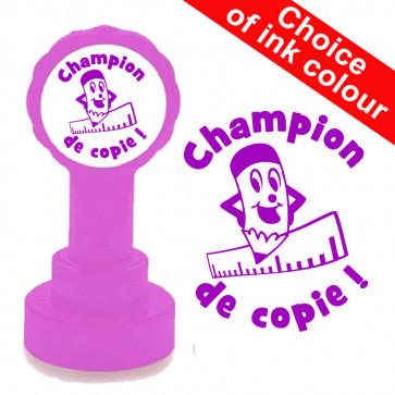 Teacher Stamp | Champion de copie, French Language Teacher Stamp.