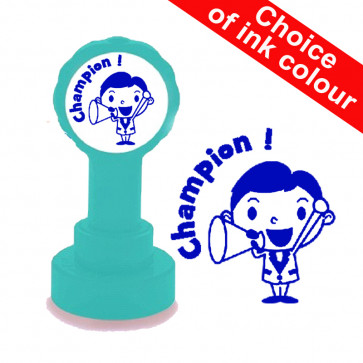 Teacher Stamp | Champion !, English/French Language Teacher Stamp