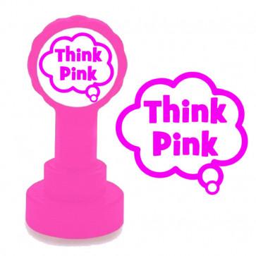 Teacher Stamp | Pink Think (Pink for Think) Marking Stamp