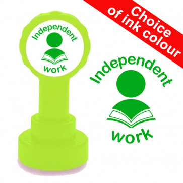 Teacher Stamp | Independent Work School Stamp