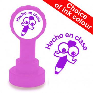Teacher Stamp | Hecho en clase Spanish Teacher Stamp