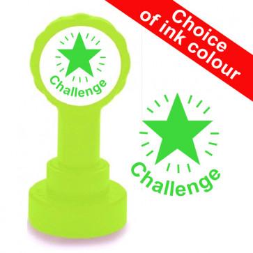 Teacher Stamp | Challenge School Stamp. Mastery Level Assessment