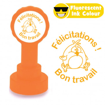 Teacher Stamps   Parfait ! Joyeuses Pâques - French Easter Self-inking Stamps