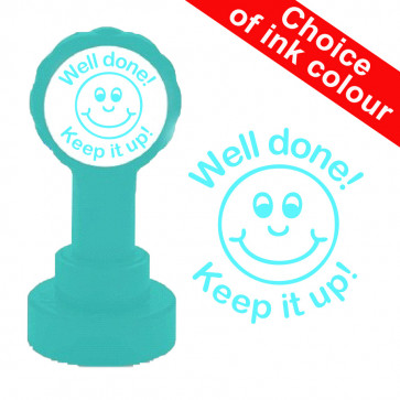Teacher stampers   Courage Continue ! / Keep it up! French Marking Self-inking Stamp