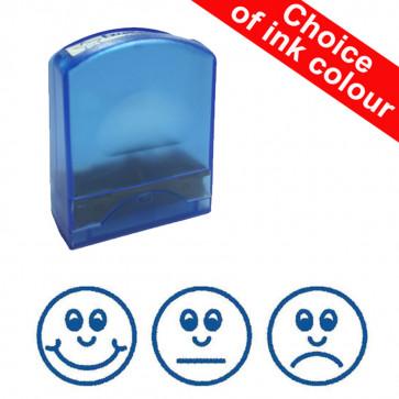 Teacher Stamps | Three Faces (Happy, Sad, OK)