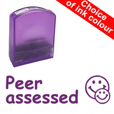 Teacher Stamps | Peer assessed. Value Range