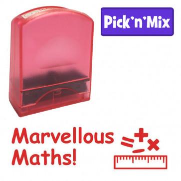 School stamps | Marvellous Maths! Design Value Stamp