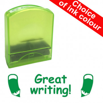 Teacher Stamps | Great writing!. Value Range.