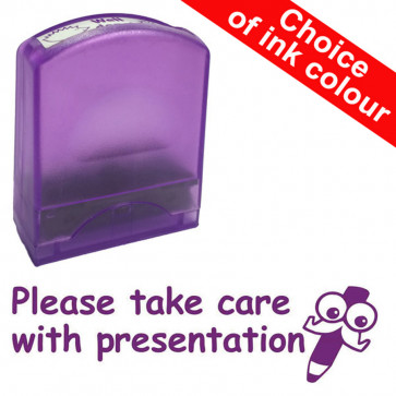 Teacher Stamps | Please take care with presentation