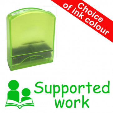 Teacher Stamps |Supported work Value Range