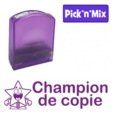 Teacher Stamps   Champion de copie Self-inking. Reinkable Value Range
