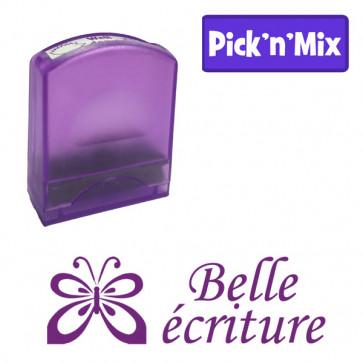 Teacher Stamps | Belle écriture Self-inking. Reinkable Value Range
