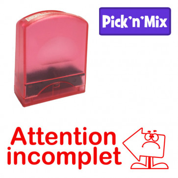 Teacher Stamps | Attention incomplet Self-inking. Reinkable Value Range
