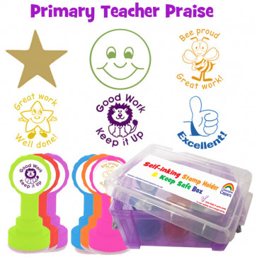 School Stamps | Primary Teacher Praise Self-inking Stamps