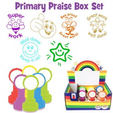 School Stamps | Great Value Primary Praise Teacher Stamp Box Set