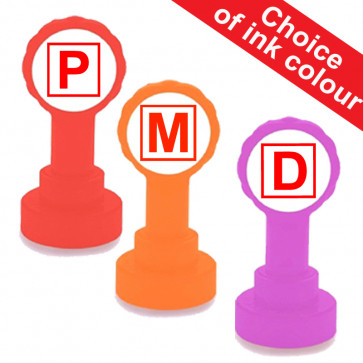 School Stamps | P -Pass, M -Merit, D -Distinction Teacher Stamps