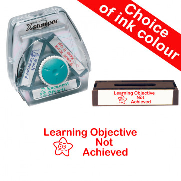 School Stamps | Learning Objective Not Achieved. Xstamper 3-in-1 Twist Stamp