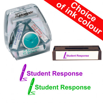 School Stamps | Student Response. Xstamper 3-in-1 Twist Stamp.