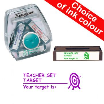 School Stamps | Teacher Set Target, Your Target Is Xstamper 3-in-1 Twist Stamp