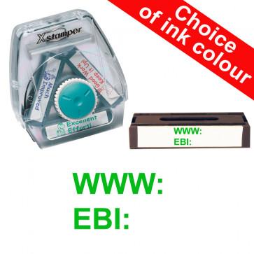 School Stamps   WWW:  /  EBI: Xstamper 3-in-1 Twist Stamp