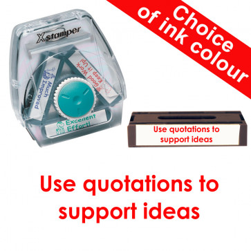 School Stamps | Use quotations to support ideas Xstamper 3-in-1 Twist Stamp.