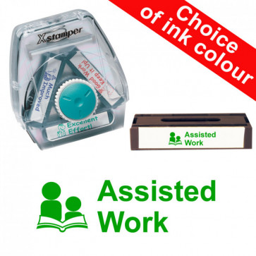 School Stamps | Assisted Work Xstamper 3-in-1 Twist Stamp
