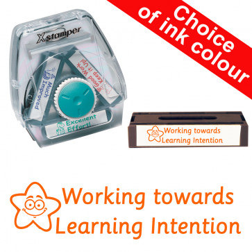 School Stamps | Working Towards Learning Intention - 3-in-1 Xstamper Twist Stamp