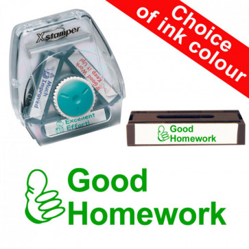School Stamps | Good Homework Xstamper 3-in-1 Twist Stamp