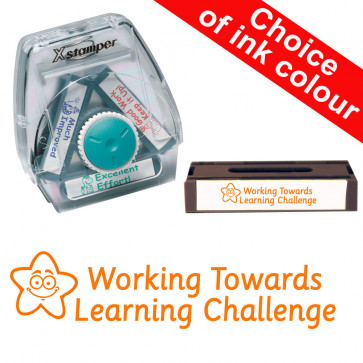 School Stamps | Working Towards Learning Challenge- 3-in-1 Xstamper Twist Stamp  8