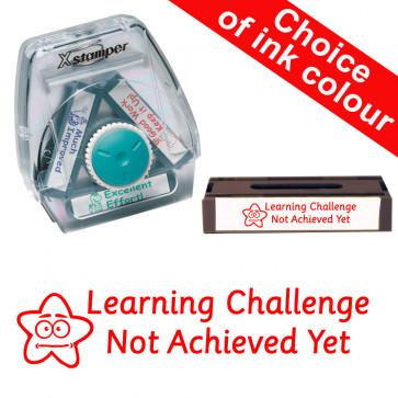 Teacher Stamps | Learning Challenge Not Met Yet-Xstamper 3-in-1