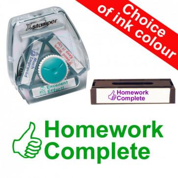 School Stamps | Homework Complete Xstamper 3-in-1 Twist Stamp