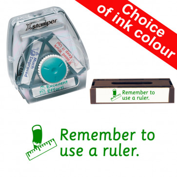 School Stamps | Remember to use a ruler. Xstamper 3-in-1 Twist Stamp