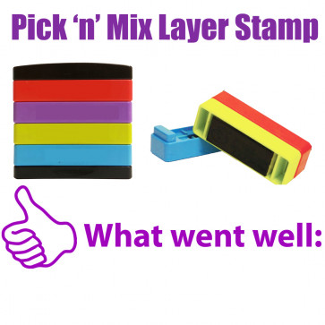 Teacher Stamps | What Went Well Pick'n'Mix Stakz Layer Multi Stamp