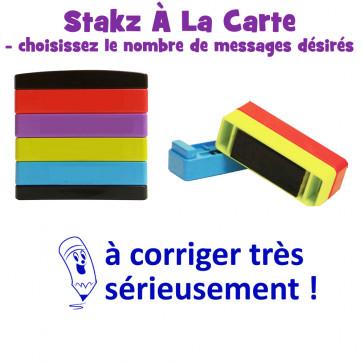 Teacher Stamps | à corriger très sérieusement Pick'n'Mix Stakz Layered French Multistamp.