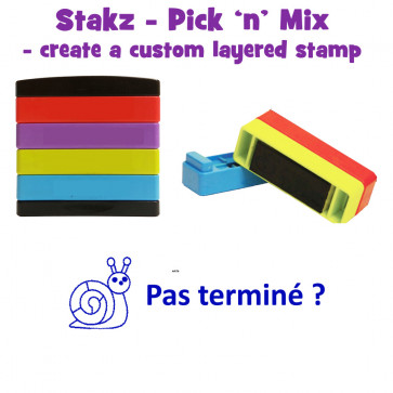 Teacher Stamps   Pas terminé Pick'n'Mix Stakz Layered French Multistamp