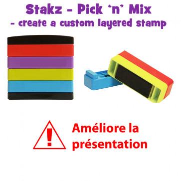 Teacher Stamps | Améliore la presentation Pick'n'Mix Stakz Layered Multistamp