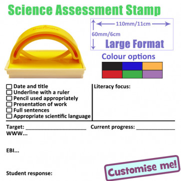 School Stamps | Science marking checklist and feedback stamper