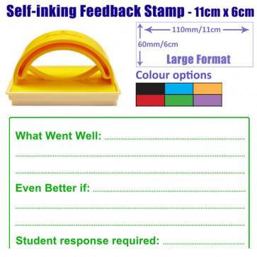Teacher Stamper | Large Format WWW / EBI / Student response School Stamp