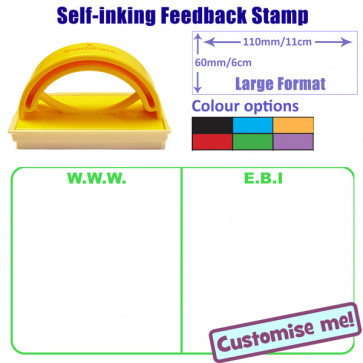 Teacher Stamp | Large Format WWW / EBI School Stamp