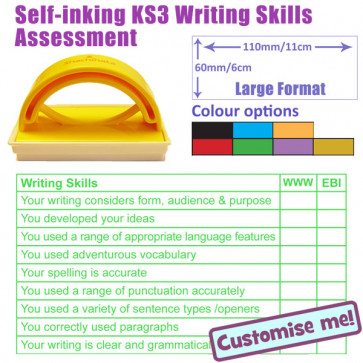 Teacher Stamp | Writing Skills Assessment - KS3 Years 7 - 11